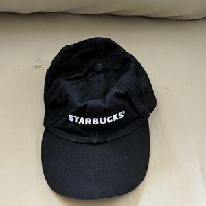 Black Starbucks hat